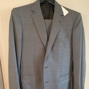NWT Kenneth Cole Dark Gray Extreme Slim Fit Suit